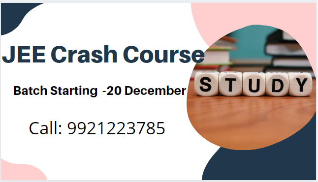 jee crash course in pune